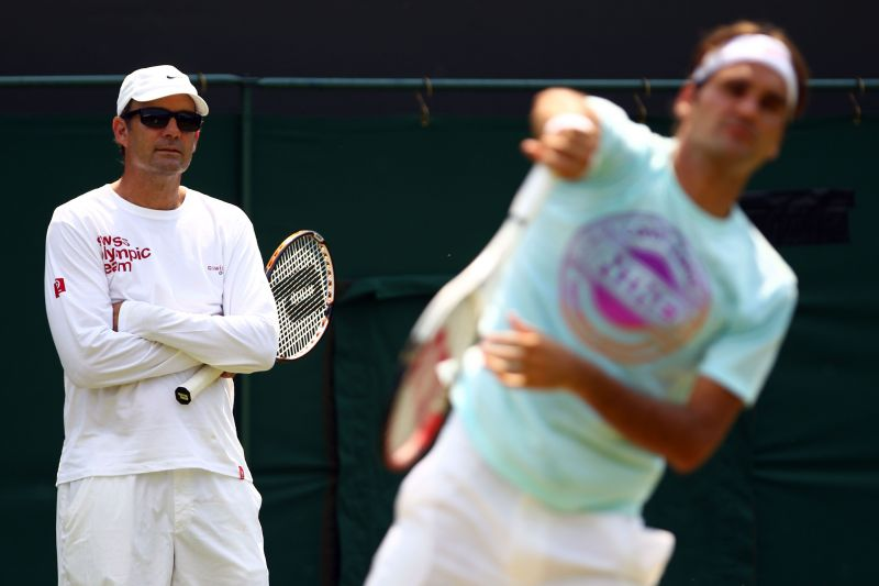 Roger Federer was coached by Paul Annacone between 2010 and 2013