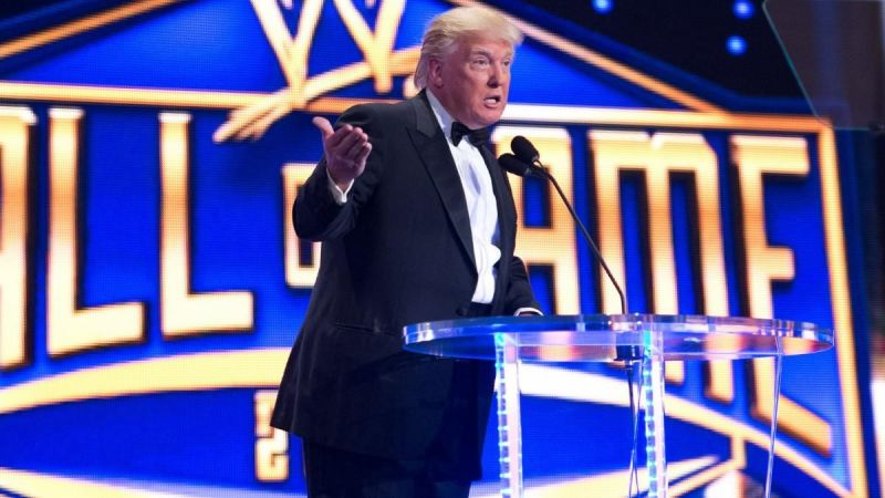 Donald Trump brought a lot of mainstream publicity to WWE.