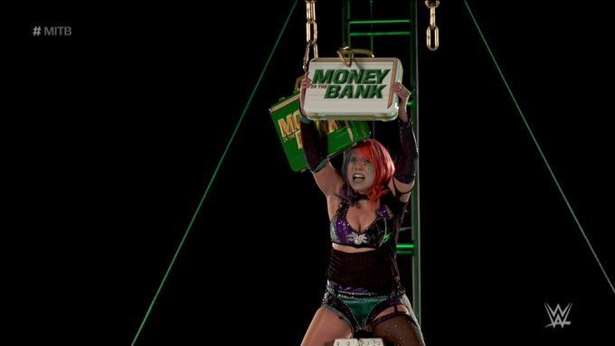 Another big moment for Asuka!