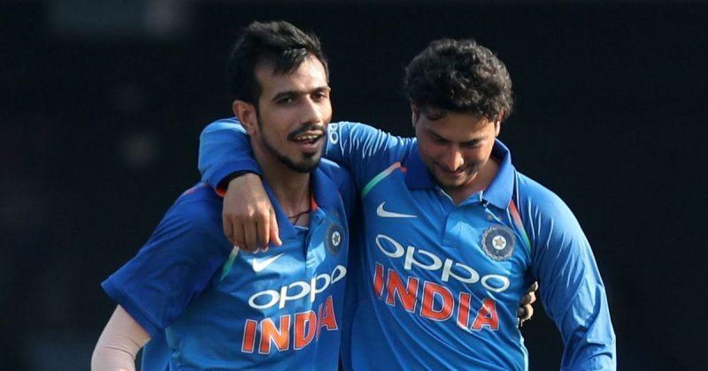 Kuldeep and Chahal enjoy a wonderful chemistry on the field as well