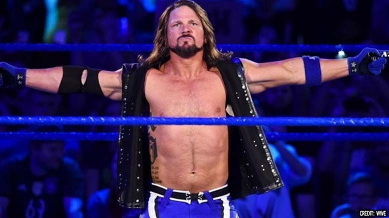 AJ Styles is now on SmackDown!