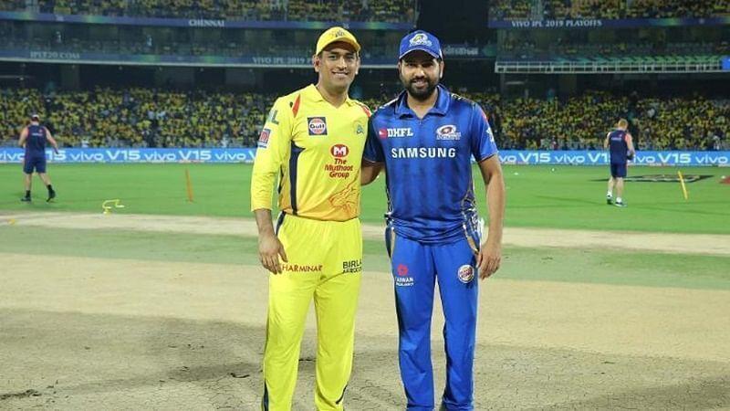 एम एस धोनी और रोहित शर्मा