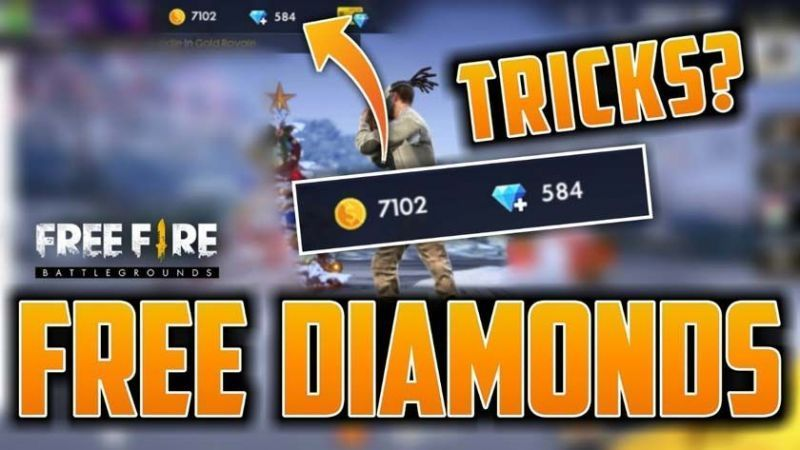 How to earn Diamonds in Free Fire?