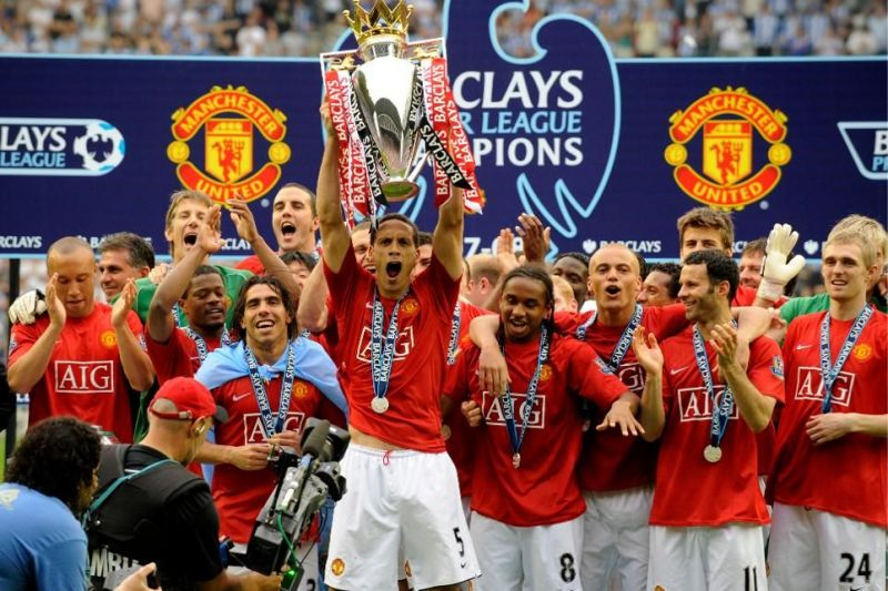 Manchester United won the Premier League and beat Chelsea in the UCL final to claim the double