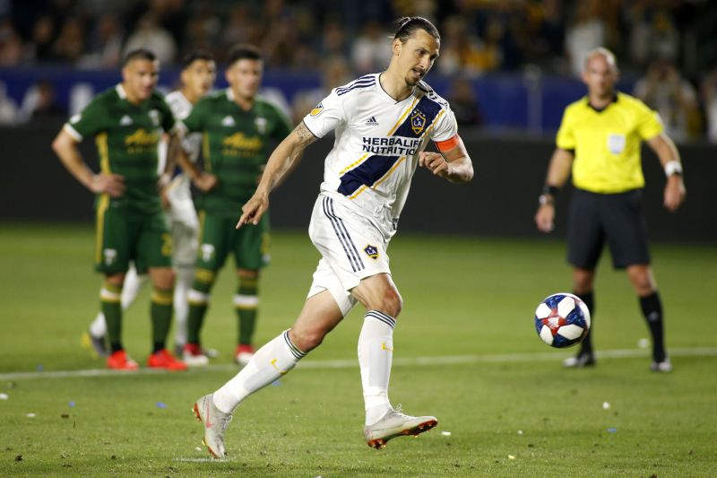 Zlatan Ibrahimovic joined AC Milan from LA Galaxy in the January transfer window.