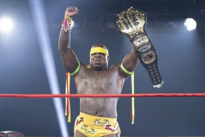 Moose is the self-proclaimed TNA World Heavyweight Champion