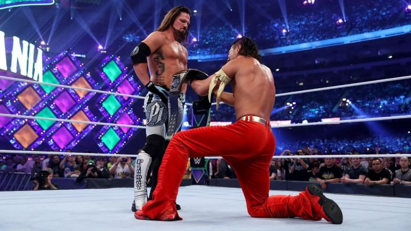 AJ Styles and Shinsuke Nakamura are set to square off on SmackDown tonight.
