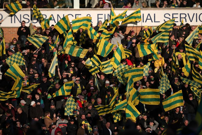 The Norwich faithful have remained loyal despite the disappointments