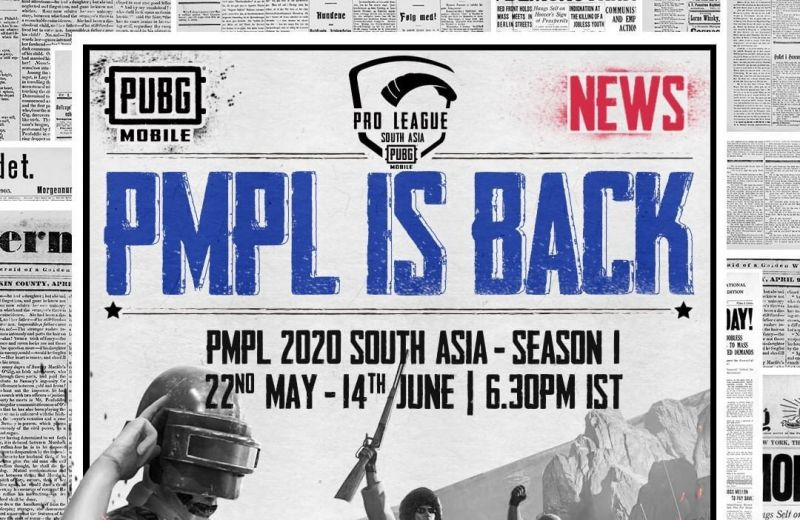PMPL South Asia 2020 Revised Dates and Schedule (ImaCredits: PUBG Mobile)