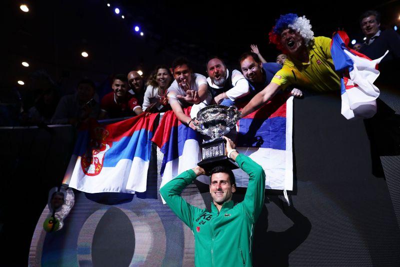 Novak Djokovic, the No.1 tennis player in the world, turns 33 today