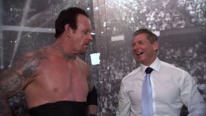 The Undertaker and Vince McMahon
