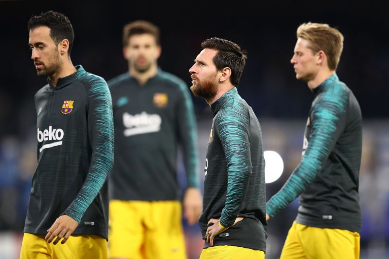 Barcelona are increasing their efforts to prepare for a La Liga return next month