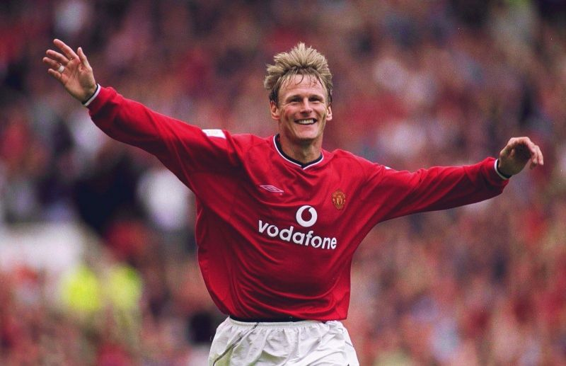 Teddy Sheringham joined Manchester United as a 31-year-old