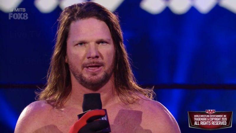 AJ Styles denied losing to The Undertaker
