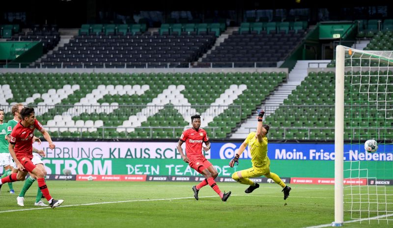 Havertz scored 2 goals against Bundesliga rivals Werder Bremen over the weekend