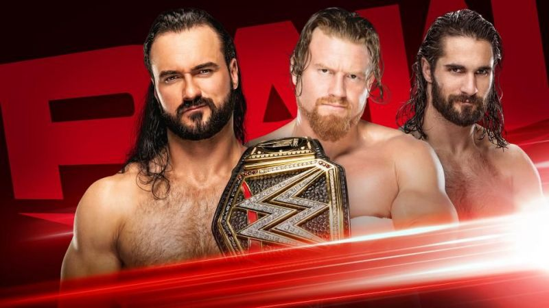 Drew McIntyre and Murphy clashed in the RAW main event