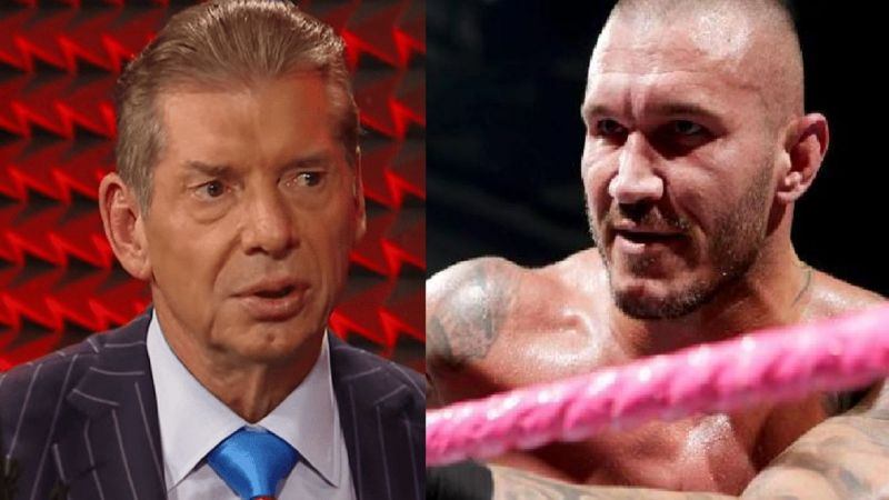 Vince McMahon and Randy Orton