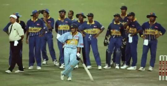 भारत-श्रीलंका, 1996 वर्ल्ड कप