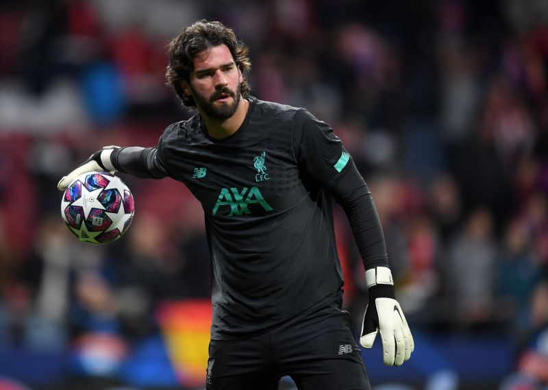 Alisson Becker was dearly missed when he missed games for Liverpool this season.