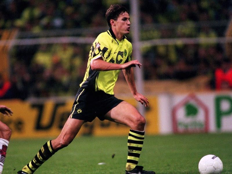 Borussia Dortmund legend and former Bundesliga top-scorer in a season