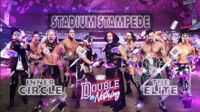 Are you ready for the first-ever Stadium Stampede match?