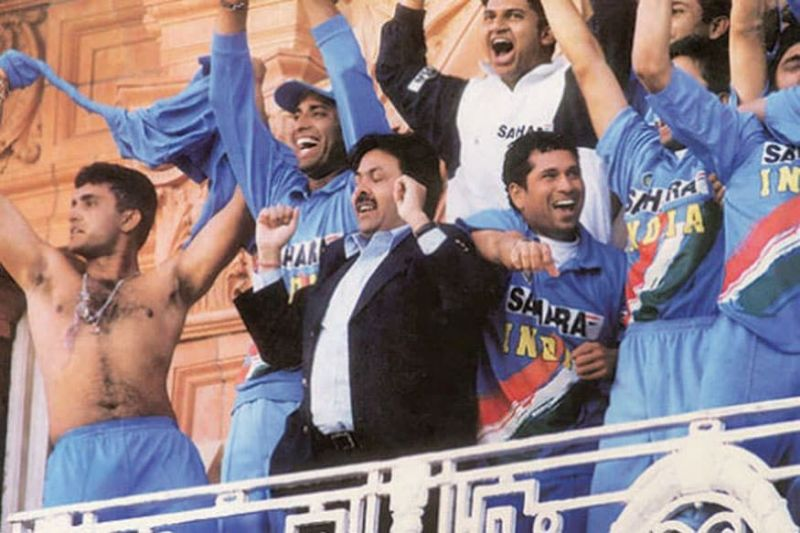 The iconic moment of Sourav Ganguly hurling his shirt at the Lord