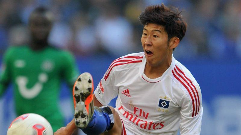 Son Heung-min - academy graduate of Hamburger SV