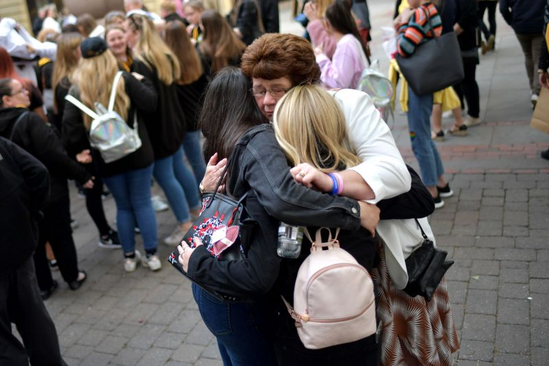 Victims and families mark the Second Anniversary Of Manchester Terror Attack