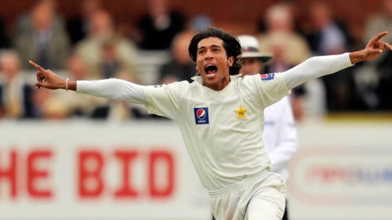 A young Mohammad Amir etched his name onto the Lord