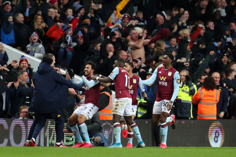 Aston Villa beat Leicester over two legs to reach the Carabao Cup Final, one Maddison remembers