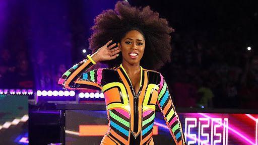 Naomi returned to WWE at Royal Rumble this year (Image: WWE)
