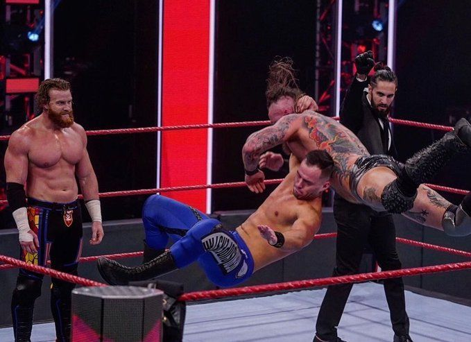 Austin Theory responds after joining hands with The Monday Night Messiah