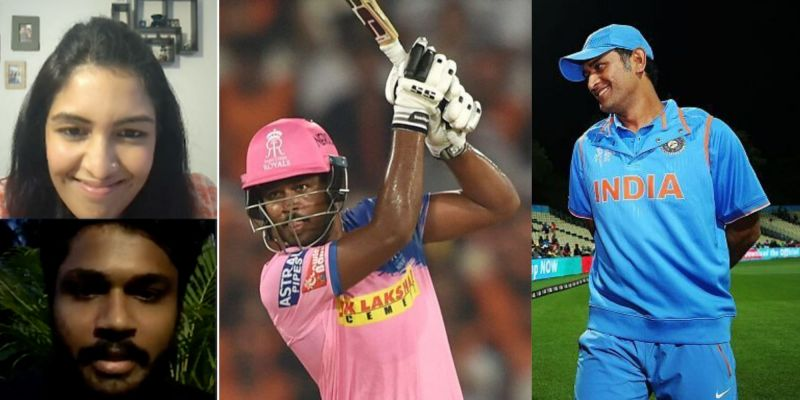 Sanju Samson relished every moment with MS Dhoni on the field