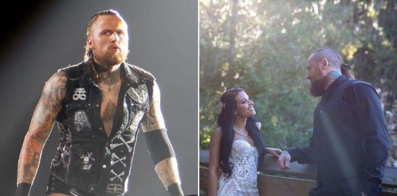 Aleister Black is married to Zelina Vega