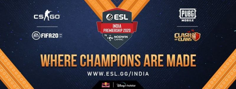 Poster Source: ESL India Facebook