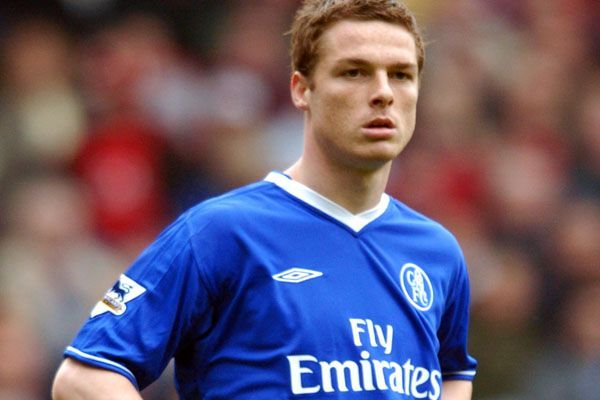 Scott Parker during his short stint with Chelsea