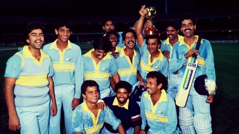 India won the 1985 Benson & Hedges World Championship of Cricket