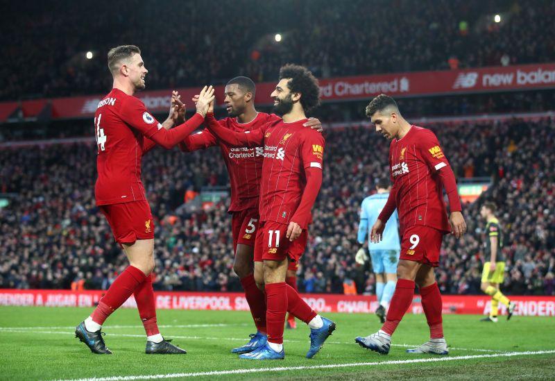 Jordan Henderson and Liverpool were amongst the winners