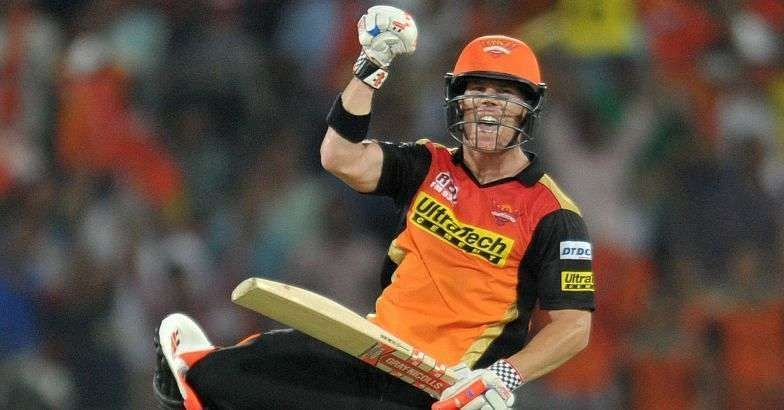 David Warner led SRH to their only IPL title.