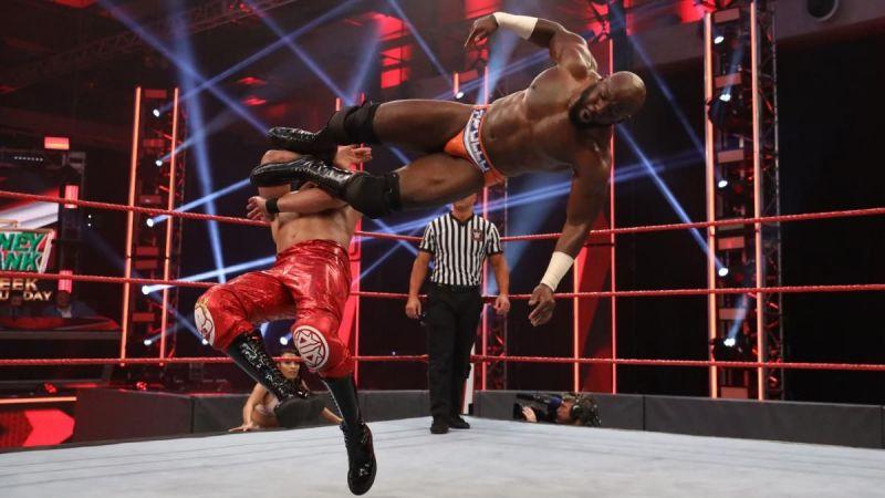Apollo Crews got injured last week on RAW
