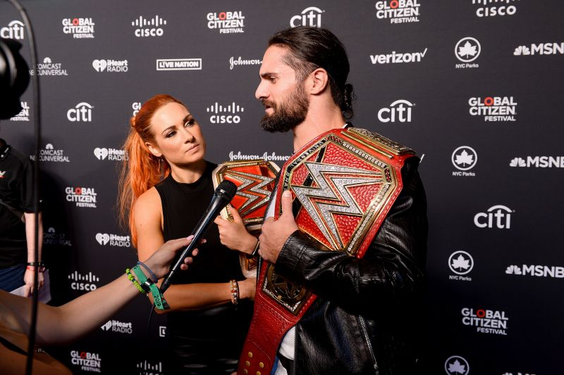 Becky Lynch and Seth Rollins are expecting a baby