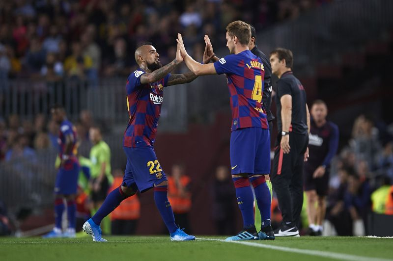 Rakitic and Vidal will face increased competition for places.