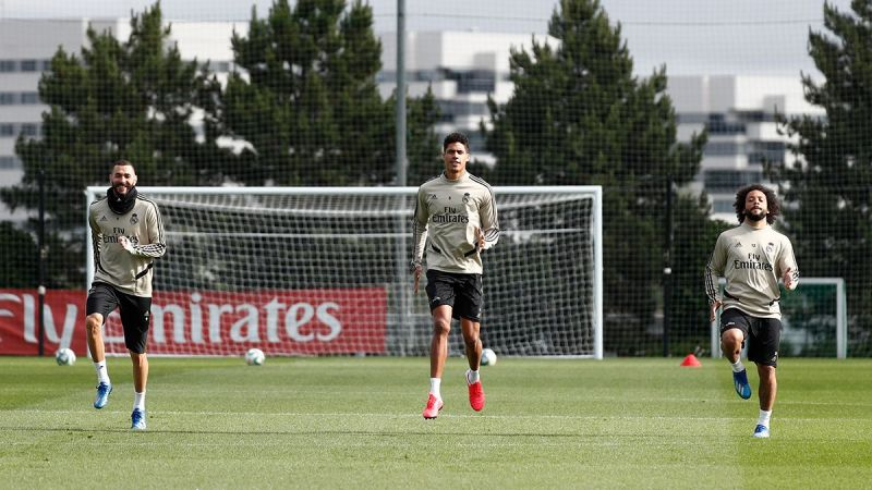 Real Madrid players returned to training in recent weeks