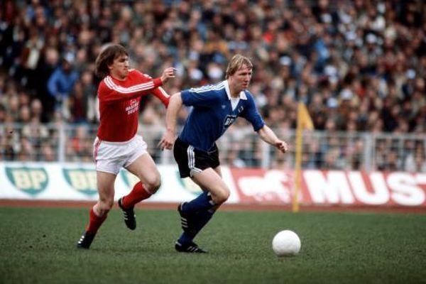 Horst Hrubesch scored 27 goals for Hamburg in 1981-82 - the season that saw them plunder 50 goals in their first 17 games