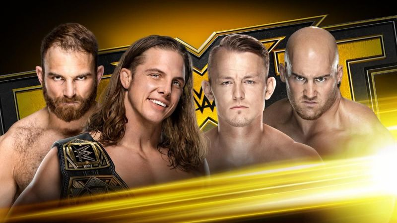 Matt Riddle and Timothy Thatcher will face Fabian Aichner and Marcel Barthel (Image: WWE)