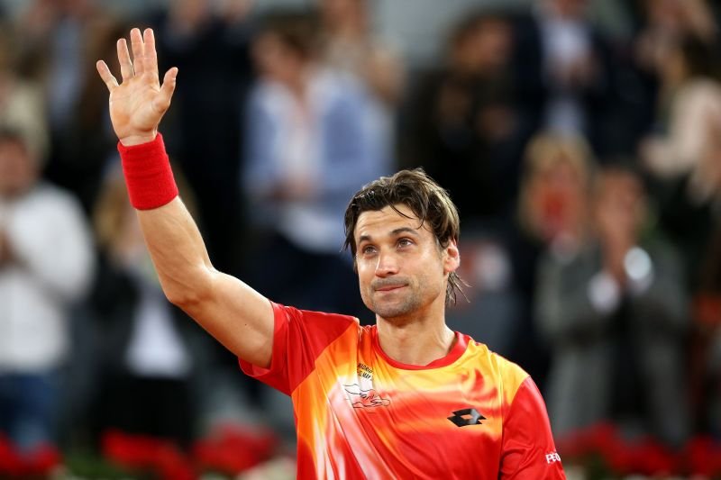 David Ferrer stands by his compatriot and Davis Cup teammate, Rafael Nadal