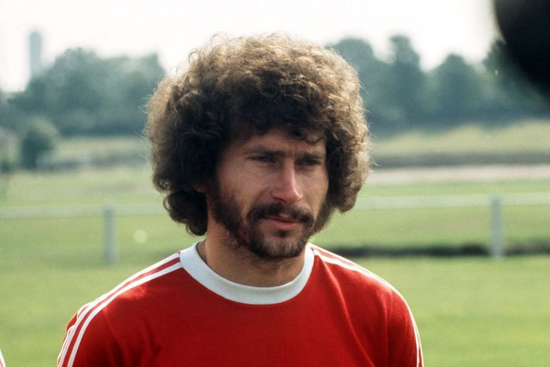 Paul Breitner scored three goals in the 1974 World Cup for West Germany.