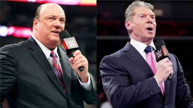 Paul Heyman and Vince McMahon (photo: stillrealtous.com)