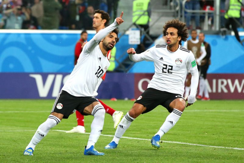 Salah is also an inspirational figure for his national team