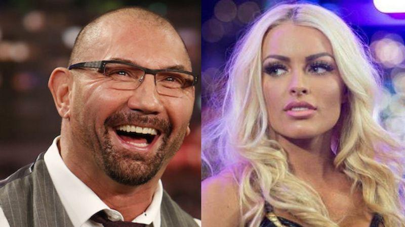 Batista and Mandy Rose